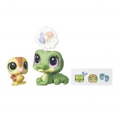 Figurine Petshop : Figurines à personnaliser : Alia Lagarto & Dabble Von Quack