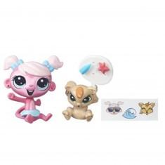 Figurine Petshop : Figurines à personnaliser : Minka Mark & LaRisa McChortle