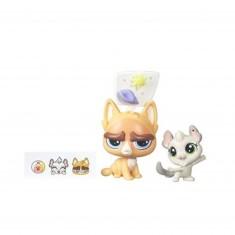 Figurine Petshop : Figurines à personnaliser : Sulky MacWhiskers & Chenille Chilla