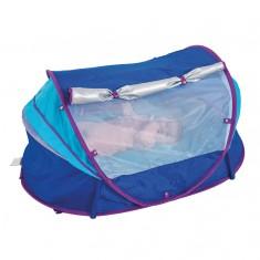 Tente nomade bleue