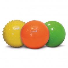 Balles sensorielles : Coffret de 3 balles