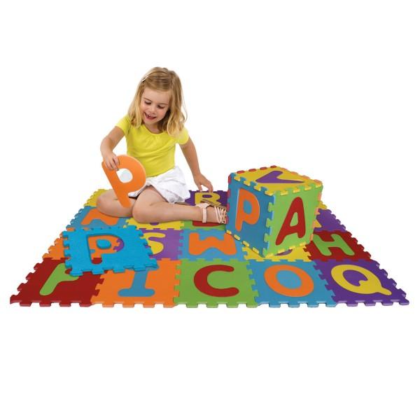 dalles en mousse basic lettres jeux et jouets ludi. Black Bedroom Furniture Sets. Home Design Ideas