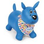 Mon chien sauteur bleu