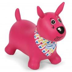 Mon chien sauteur rose