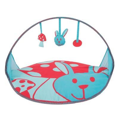 tapis d 39 veil pop 39 up lapin jeux et jouets ludi avenue des jeux. Black Bedroom Furniture Sets. Home Design Ideas