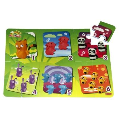 Sans Marque dalles puzzle en mousse puzzle 24 pièces