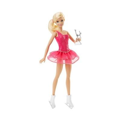 Sans Marque Poupée Barbie : Patineuse artistique