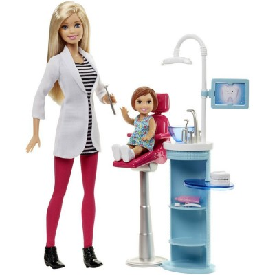 Sans Marque Poupée Barbie : Dentiste