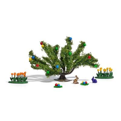 Sans Marque modélisme : petit décor - diorama paques
