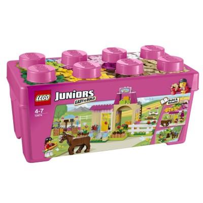 LEGO ® Lego 10674 Juniors : Grande boîte du centre équestre