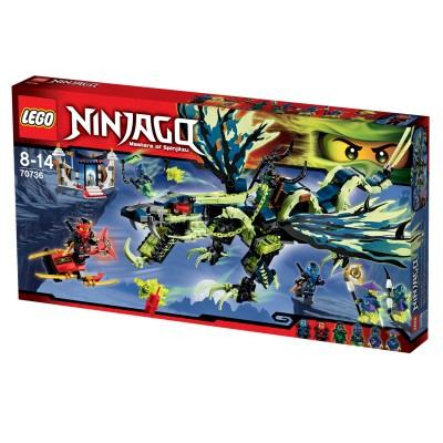 Lego 70736 ninjago l 39 attaque du dragon moro lego - Lego ninjago voiture ...