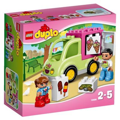 Lego ® lego 10586 duplo : la camionnette de glaces