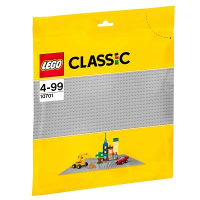 Lego ® lego 10701 classic : la plaque de base grise