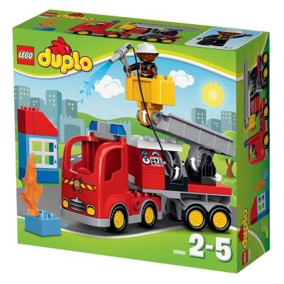 Lego ® lego 10592 duplo : le camion de pompiers