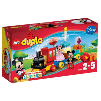 Lego ® lego 10597 duplo : la parade d'anniversaire de mickey et minnie