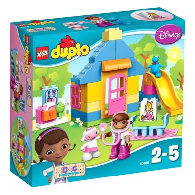 Lego ® lego 10606 duplo : la clinique de docteur la peluche