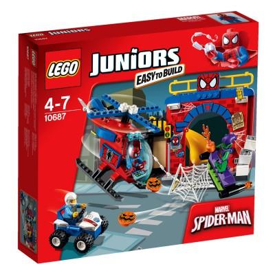 Lego ® lego 10687 juniors : super heroes : la cachette de spiderman
