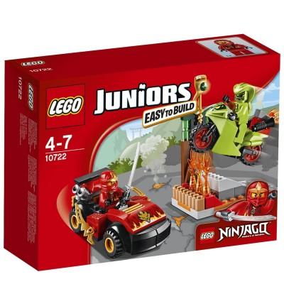Lego ® lego 10722 juniors : l'attaque du serpent ninjago