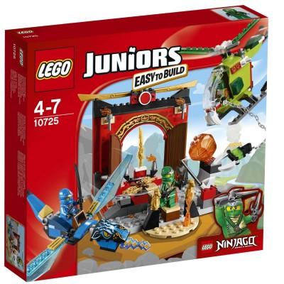 Lego ® lego 10725 juniors : le temple perdu de ninjago