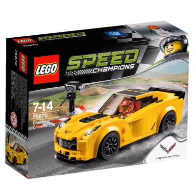 LEGO ® Lego 75870 Speed Champions : Chevrolet Corvette Z06