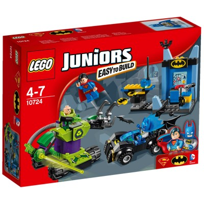 Lego ® lego 10724 junior : batman et superman contre lex luthor
