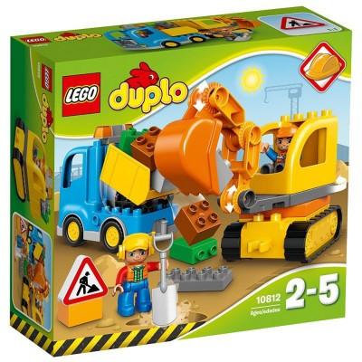 Lego ® lego 10812 duplo : le camion et la pelleteuse