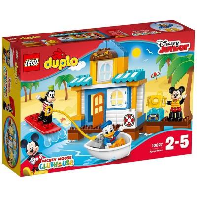 Lego ® lego 10827 duplo : la maison à la plage de mickey et ses amis