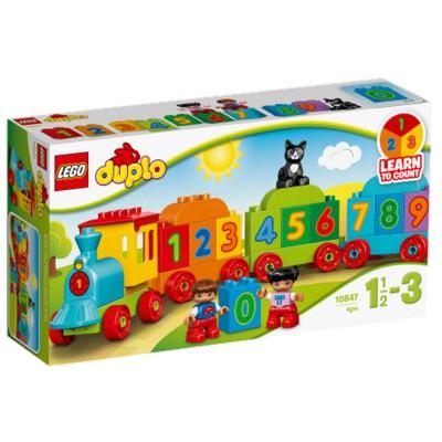 Lego ® lego 10847 : mes premiers pas : le train des chiffres