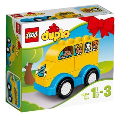 Lego ® lego 10851 : mes premiers pas : mon premier bus