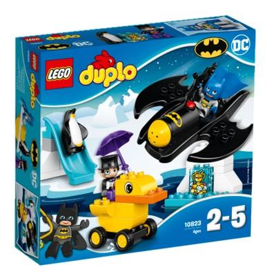 Lego ® lego 10823 : super heroes : l'aventure en batwing