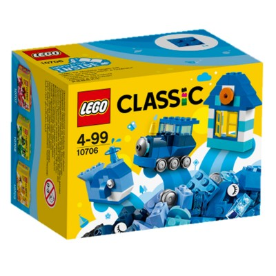 Lego ® lego 10706 : classic : boîte de construction bleue