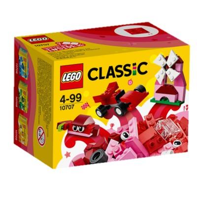 Lego ® lego 10707 : classic : boîte de construction rouge