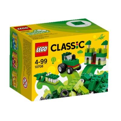 Lego ® lego 10708 : classic : boîte de construction verte