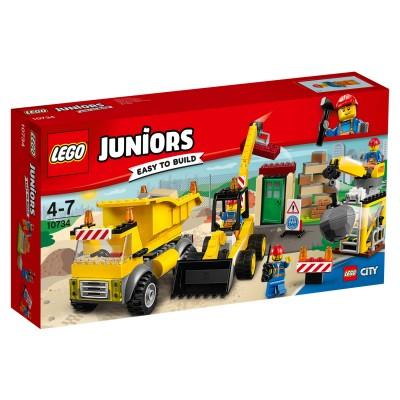 Lego ® lego 10734 juniors : le chantier de démolition