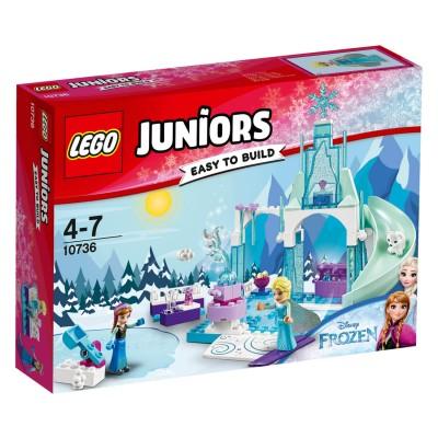 Lego ® lego 10736 juniors : l'aire de jeu d'anna et elsa