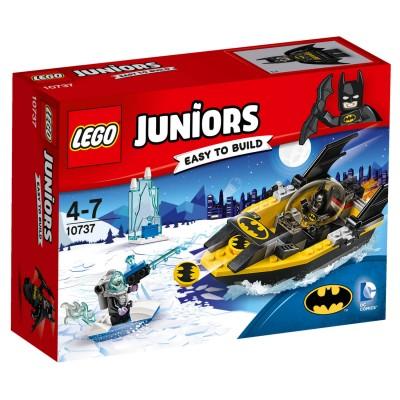 Lego ® lego 10737 juniors : batman contre mr. freeze