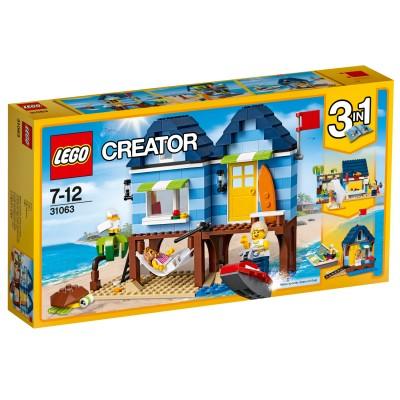 LEGO ® Lego 31063 Creator 3 en 1 : Les vacances à la plage