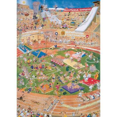Jumbo Puzzle 1000 pièces - jan van haasteren : jeux olympiques