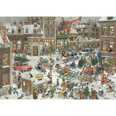 Jumbo Puzzle 1000 pièces - jan van haasteren : noël