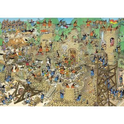 Jumbo Puzzle 1000 pièces - jan van haasteren : le château en folie