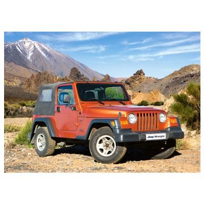 Castorland Puzzle 180 pièces : jeep wrangler
