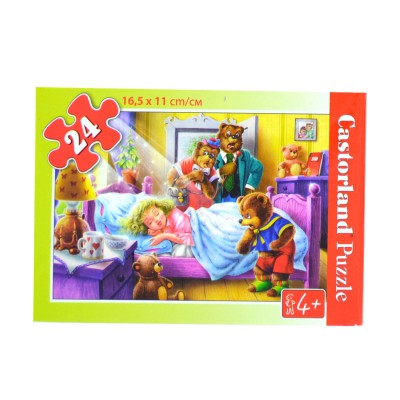 Castorland Puzzle 24 pièces : boucle d'or