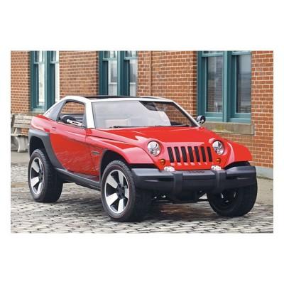Castorland Mini puzzle 54 pièces : jeep jeepster