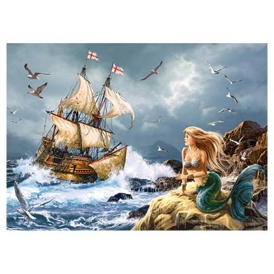 Castorland Puzzle 120 pièces : les mystères de la mer