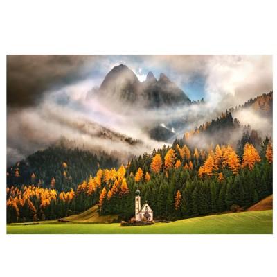Castorland Puzzle 1000 pièces : montagne magique