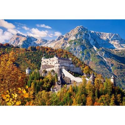 Castorland Puzzle 1000 pièces : château de hohenwerfen, autriche