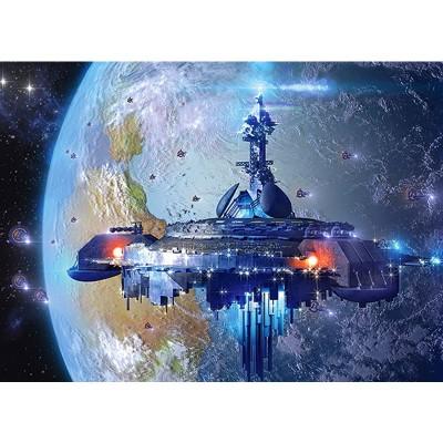 Castorland Puzzle 120 pièces : alien spaceship