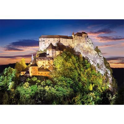 Castorland Puzzle 500 pièces - château orava, slovaquie