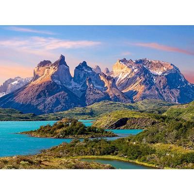 Castorland Puzzle 1500 pièces - parc national torres del paine en patagonie, chili
