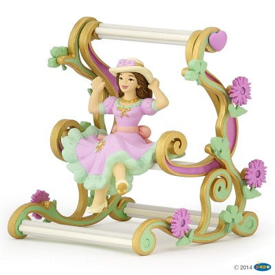 Papo Figurine Princesse à la balancelle